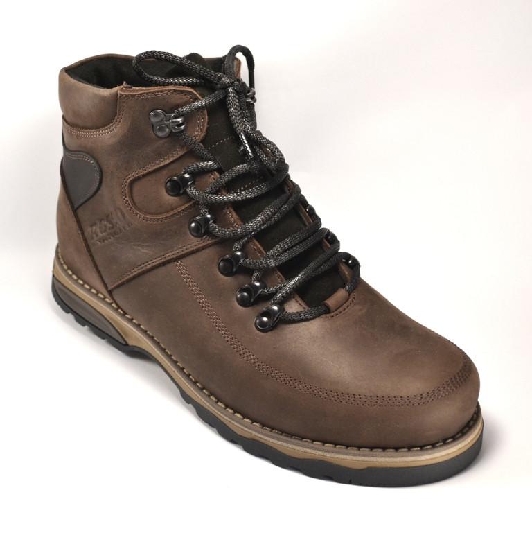 Ботинки мужские зимние коричневые кожа на меху Rosso Avangard Major Payne Sport Trend Brown