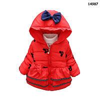Демисезонная куртка Minnie для девочки. 1-2;  2-3;  3-4 года