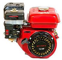 Двигатель бензиновый WEIMA BT170F-Q (7,0 л.с., шпонка Ø19мм, L=61мм) + доставка