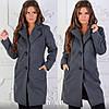 Модное кашемировое пальто на подкладке