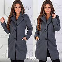 Модное кашемировое пальто на подкладке, фото 1