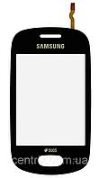 Тачскрин (сенсор) для Samsung S5282 Galaxy Star Duos, черный