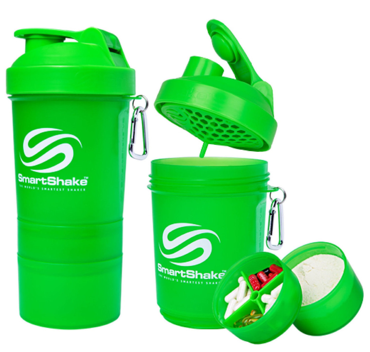 Шейкер SmartShake Original NEON Green 600 ml
