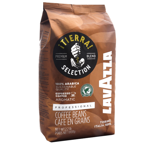 Кофе в зернах Lavazza Espresso Tierra Selection (кофе лавацца Тиерра) 1 кг.