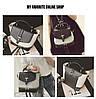 Городской женский рюкзак черный с серым, фото 3