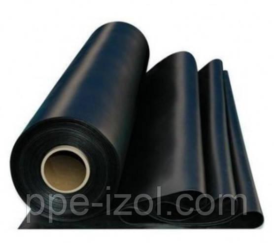 Пленка строительная чёрная от 50 - 200мкн.