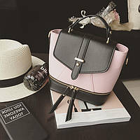 079b0c5fe6a1 Сумка женская кожаная розовая в категории рюкзаки городские и ...