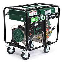 Генератор дизельный IRON ANGEL  EGD 5000 CLE   (4,2 кВт, электростартер) Бесплатная доставка