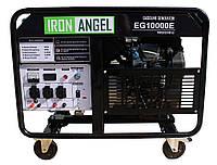 Генератор бензиновый IRON ANGEL  EG 10000E   (8,5 кВт, электростартер) Бесплатная доставка, фото 1