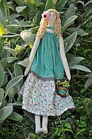 Кукла авторской работы в стиле Тильда «Девочка Весна»