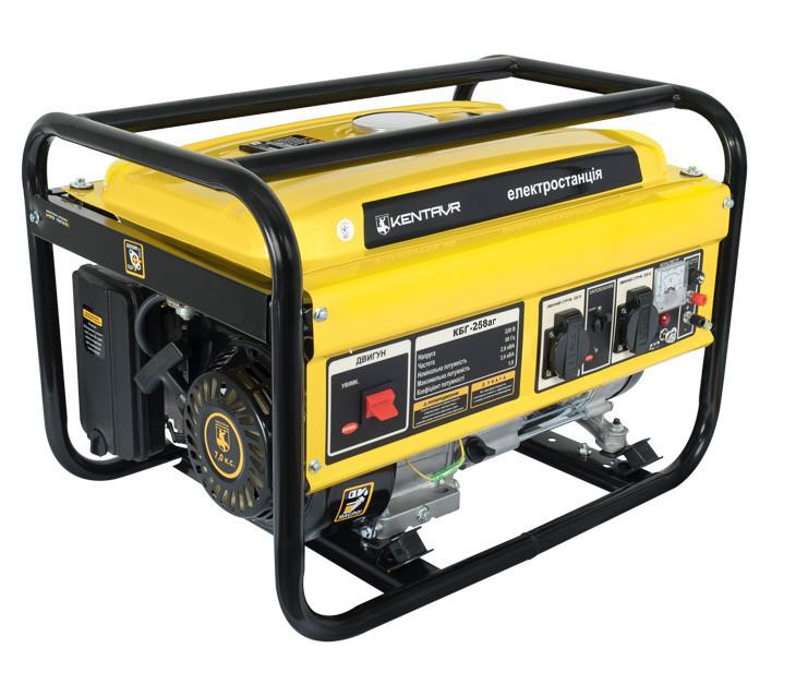 Генератор газ-бензин Кентавр КБГ258аг (2,5 кВт, ручной стартер) Бесплатная доставка
