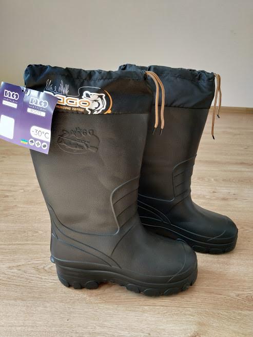 Утепленні чоботи для мисливства і рибальства. 42 розмір. Супер Резиновые сапоги утепленные для рыбалки и охоты