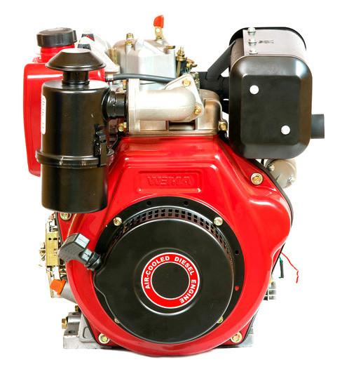 Двигатель дизельный Bulat BT186FВE (9,5 л.с., шлицы Ø25мм, L=33мм, электростарт)+ доставка