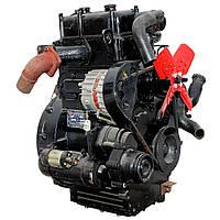 Дизельный двигатель TY295IT (18,0 л.с.,, электростартер, 2 цилиндра) Доставка бесплатно!