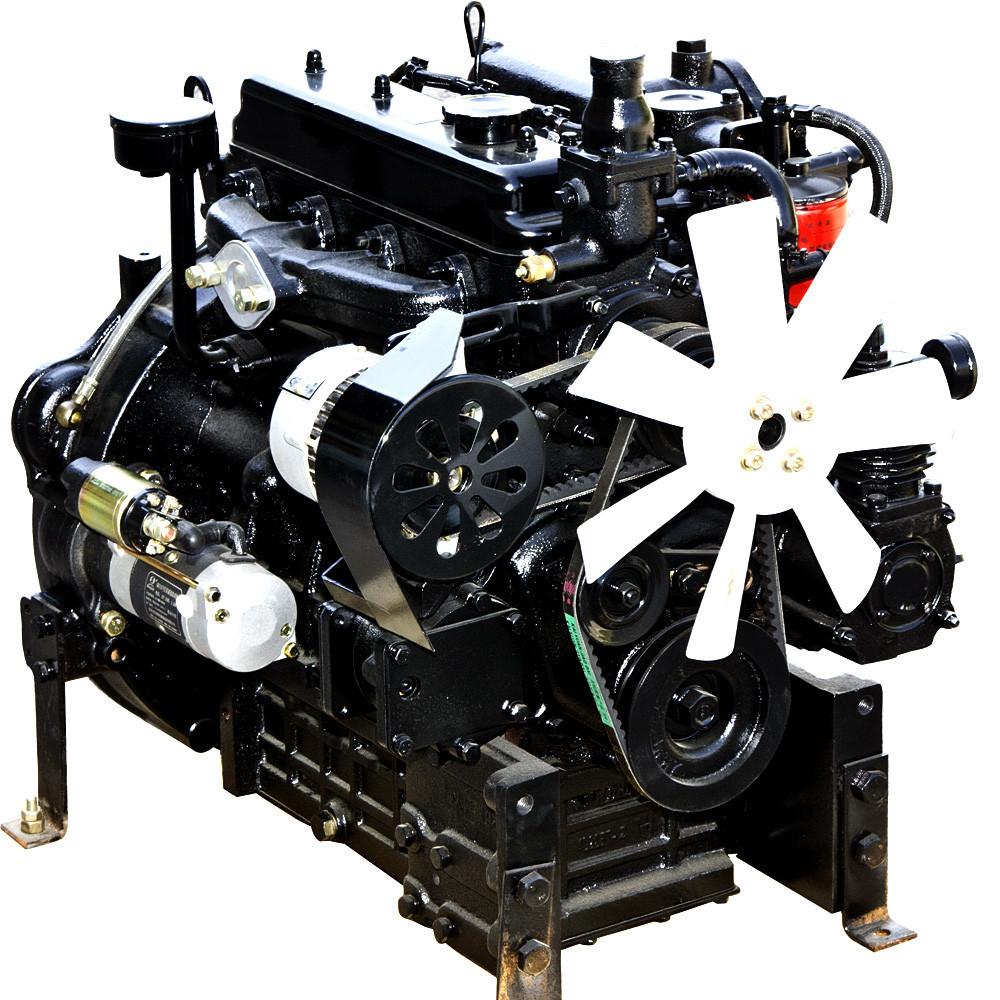 Дизельный двигатель 4L22BT (35,0 л.с.,, электростартер, 4 цилиндра) Бесплатная доставка