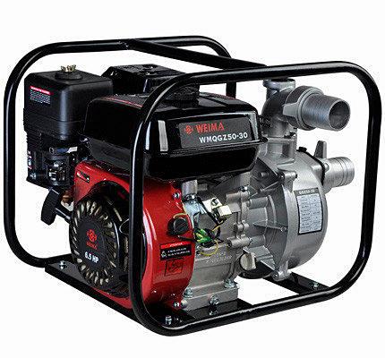 Мотопомпа бензиновая WEIMA WMQGZ50-30(бензин, патрубок 50мм, 36куб/час) Бесплатная доставка