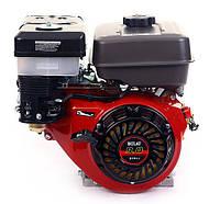 Двигатель бензиновый BULAT  BW177F-Т  (9,0 л.с., шлицы Ø25мм, L=36,5мм)+доставка