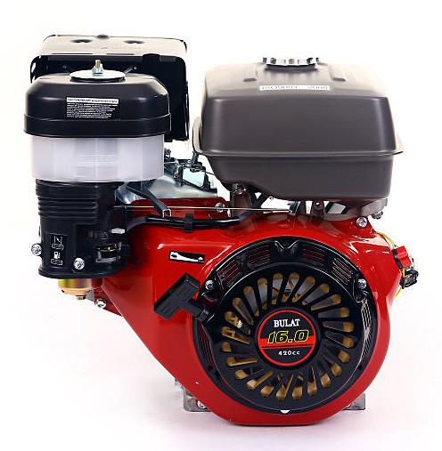 Двигатель бензиновый BULAT  BW190F-S (16л.с., шпонка Ø25мм, L =72мм) + доставка