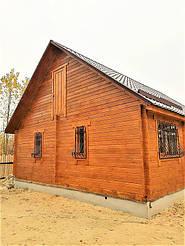 Деревянный дом из профилированного бруса в Краматорске -1