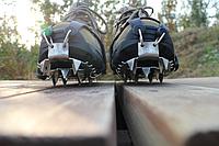 Ледоходы / ледоступы / накладки зимние противоскользящие резиновые на обувь с 18 шипами
