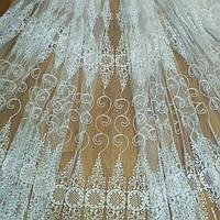 Гардина Кордова вышивка с люрексом, фото 1