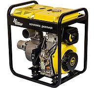 Мотопомпа дизельная Кентавр КДМ100БЕ (для чистой воды, 80 м. куб/час, электростартер) + доставка, фото 1