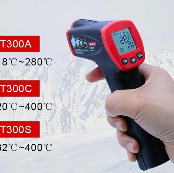 Бесконтактный инфракрасный лазерный термометр ТЕХНИЧЕСКИ