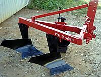 Плуг для минитрактора навесной 2-х корпусный регулируемый ПН 2-25 Р