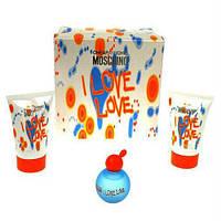 Moschino I Love Love - Набор