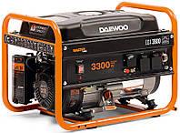 Бензиновый генератор Daewoo GDA-3800 (2,9 кВт, ручной стартер), фото 1