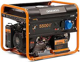 Бензиновый генератор Daewoo GDA-6500Е (5.5 кВт, электростартер)