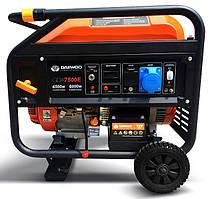 Бензиновый генератор Daewoo GDA-7500Е (6.5 кВт, электростартер)