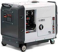 Генератор дизельный Daewoo DDAE 9000SSE  (6.4 кВт, электростартер), фото 1