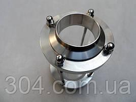 Диоптр нержавеющий под приварку DN51, AISI 304