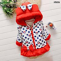 Демисезонная куртка Minnie Mouse для девочки. 3-4 года, фото 1