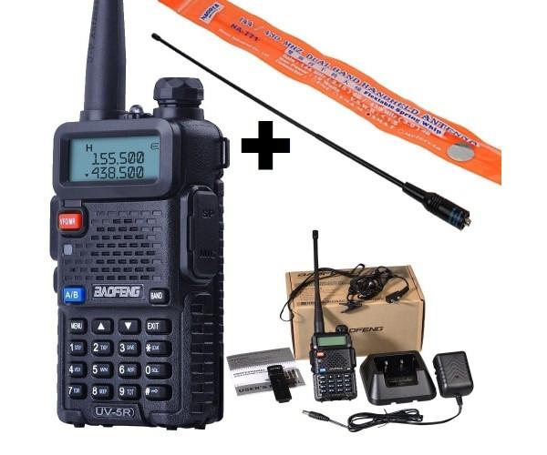 Рація, радіостанція Baofeng UV-5R + посилена антена NA-771+гарнітура. Рація Baofeng +посилена антена NA 771
