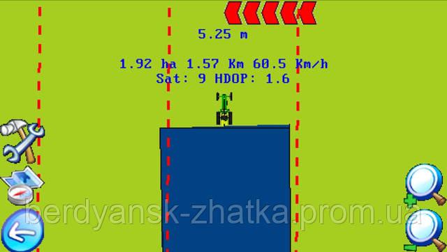Система паралельного водіння Агрокурс СМ7590