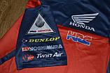 Футболка Honda HRC червоно-синя., фото 3