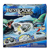 Эксклюзивная Арена Бейблейд Тень змеи с двумя бейблэйдами Спрайзен S3 и Думсайзор D3 Beyblade Burst Evolution