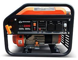 Бензиновый генератор Daewoo GDA-2300 (2,0 кВт, ручной стартер)