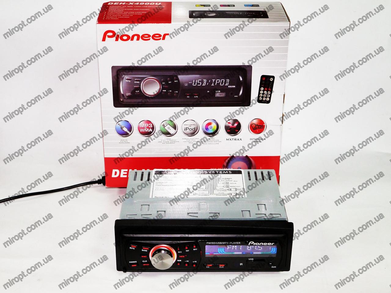Автомагнитола Pioneer DEH-X4900U - USB+SD+FM+AUX, фото 1