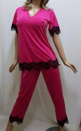 Пижама с брюками из ткани микро-масло ,от 44 до 58 р-р, Харьков, фото 2