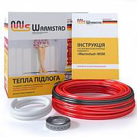 Нагревательный кабель WARMSTAD WSS 100 Вт / 7 м (0,8 м2) теплый пол под стяжку, в плиточный клей