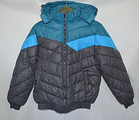 Зимняя куртка на мальчика низ на резинке
