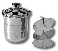 Автоклав бытовой универсальный BINGO мини (8 пол литровых банок или 3 литровых)