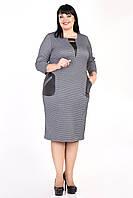 """Платье женское """"Алиша"""" с накладными карманами (М356)        , фото 1"""