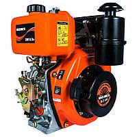 Двигатель дизельный Vitals DM 6.0s  (6,0 л.с., ручной старт, сьем. цилиндр, шлиц Ø25мм, L=35,5мм)+ доставка