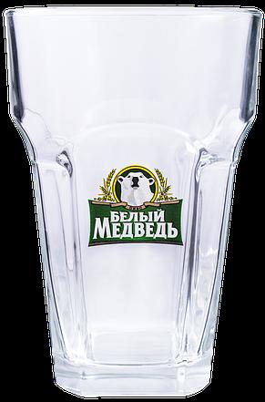 Пивной стакан с гранями 600 мл, фото 2