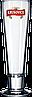 Пивной стакан стеклянный высокий 335 мл