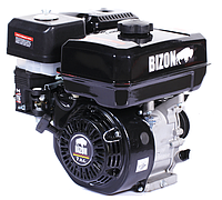 Двигатель бензиновый Bizon 170F (6,5 л.с., шпонка, 2-х ручейный шкив)+доставка